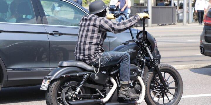 Humor - positive Denken Make - Harley Motorradfahrer